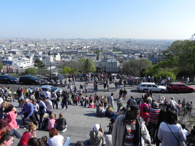 vista de Montmartre
