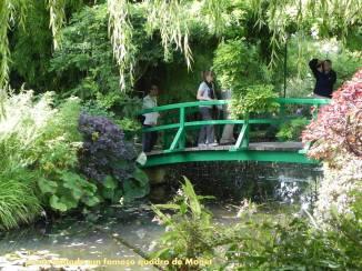 giverny ponte de perto