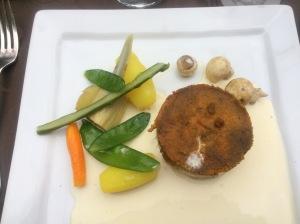 905 arraia peixe ao forno ,batatas,champignons - 1